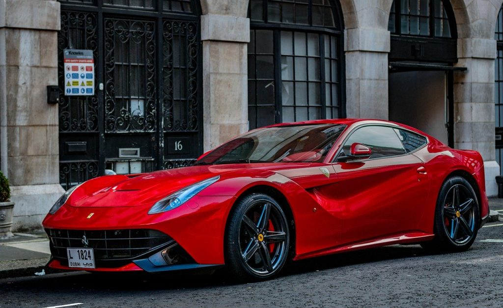 voiture Ferrari luxe